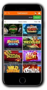 Betsson Casino Pay N Play