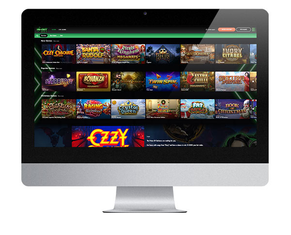 In & Out Bet Casino Desktop